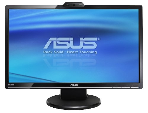 ASUS VK246H 24-Inch Widescreen LCD Monitor - Black with Webcam