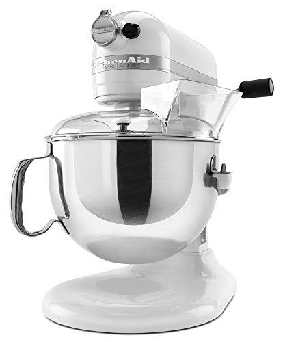 KitchenAid KP26M1XWH 6 Qt Professional 600 Series White