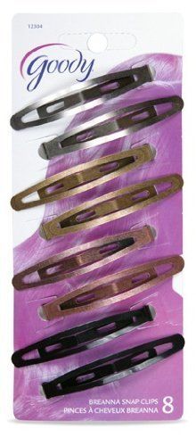 Goody Womens Classic Oval Metal Contour Clip 8x Item