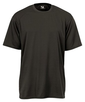 Badger-Big-Boys-B-Core-Sports-Shoulder-Panel-Comfort-T-Shirt-X-Large-Carbon