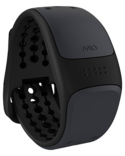 Mio LINK Heart Rate Monitor Wristband, Large, Slate