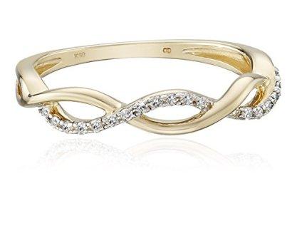 10k-Yellow-Gold-Diamond-110cttw-Twist-Ring-Size-7
