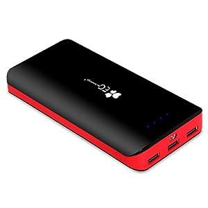 EC Technology 22400mAh モバイルバッテリー 大容量 3出力ポート
