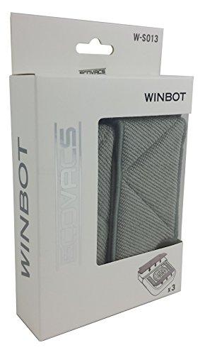 Ecovacs Winbot Fensterreinigungsroboter Zubehör 3er Set für W710 und W730