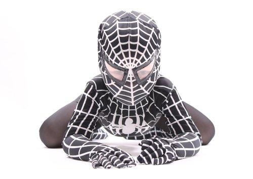 Deluxe Bambini 'Venom' Super Eroe Ragno (Nero)