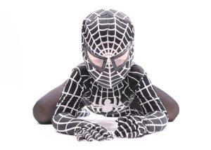Deluxe-Bambini-Venom-Super-Eroe-Ragno-Nero