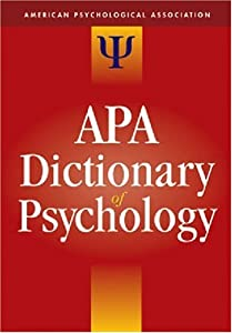 "Cover of ""The APA Dictionary of Psycholog..."