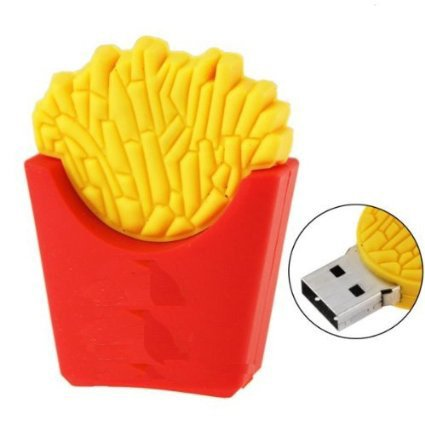 8GB USB Flash Drive Interesting fries shape