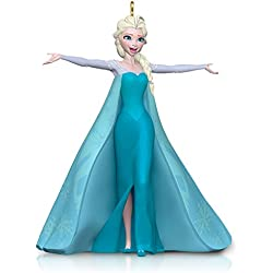 hallmark keepsake ornament disney frozen let it go queen elsa - Elsa Christmas Decoration