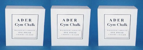 Gym Chalk 3 Lbs (24 Blocks)
