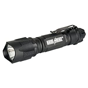Brite Strike BDRC-HLS Tactical Blue Dot Series 220-Lumen Hi Lo Strobe Rechargeable LED Flashlight