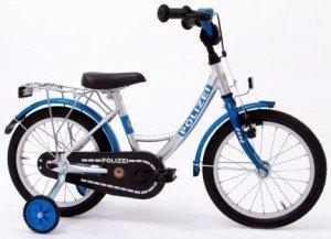 bachtenkirch 12 5 zoll fahrrad polizei blau silber. Black Bedroom Furniture Sets. Home Design Ideas