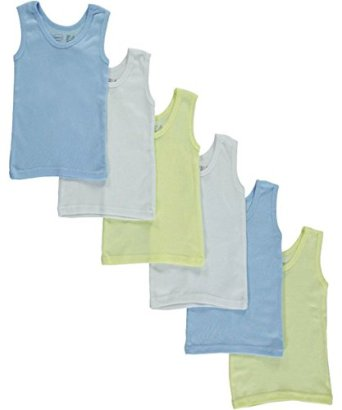 Bambini-Baby-Boys-6-Pack-Tank-Tops-blue-0-6-monthsup-to-13-lbs