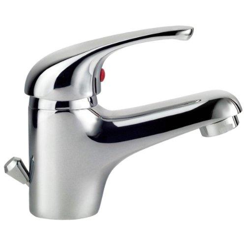 Wasserhähne Küche Günstige Bad Und Sanitär Shop: Hoga 77010 Athos Einhebelwaschtischarmatur Verchromt