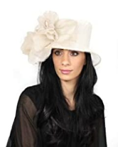 Martini Hat Kentucky Derby - Cream