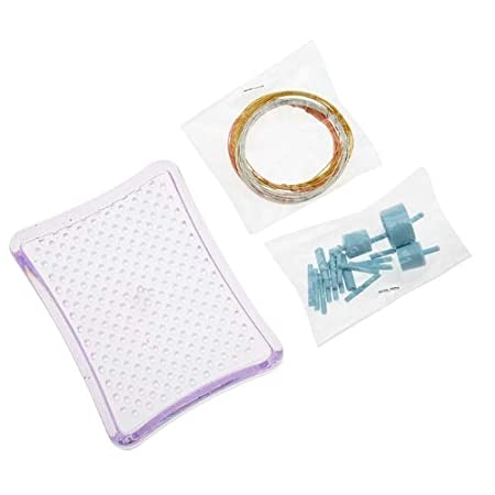 Thing-A-Ma JIG Clear Acrylic Jewelry Wire Wrapping Tool