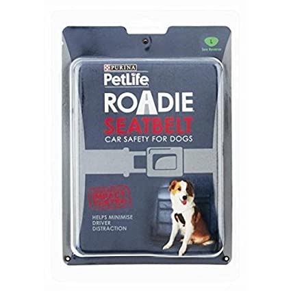 Kra-mar Roadie Dog Seatbelt (Petlife) Large - Size: Large