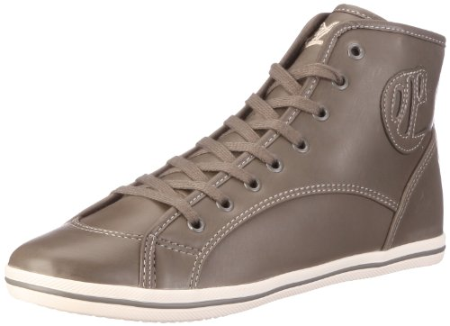 Buffalo 520-V14414 DERBY PU K 122761, Damen, Sneaker, Grau (GREY 01), EU 38