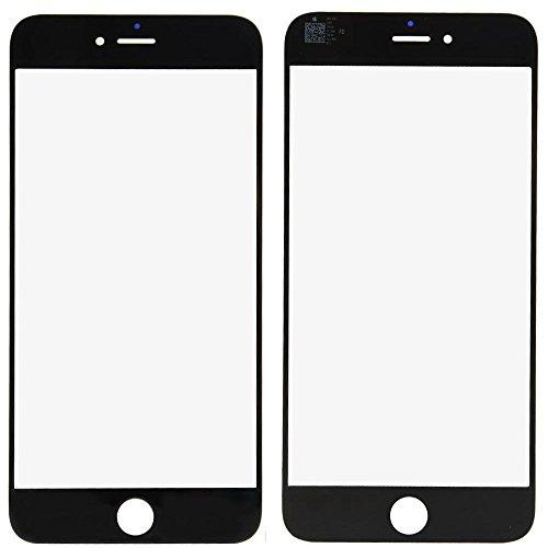ixuaniPhone 6 inch 4.7 inch 修理用 フロント液晶パネル用ガラス(液晶スクリーン含まず)液晶割れ修理用パーツ修理工具付き(ホワイト)
