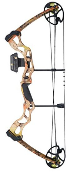 Leader Accessories 25-31 inch Draw Length 70lbs Camo Compound Bow