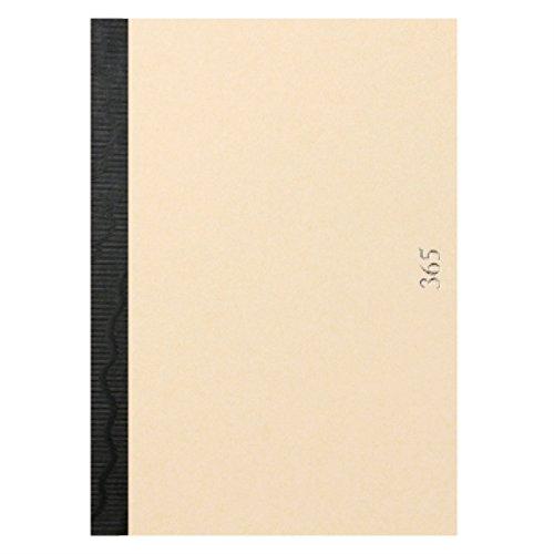 新日本カレンダー メモ帳 365notebook 生成(A6) 8682