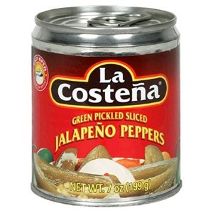 La Costena Green Pickled Sliced Jalapeno Peppers 2 pack