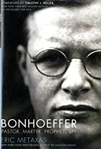 "Cover of ""Bonhoeffer: Pastor, Martyr, Pro..."