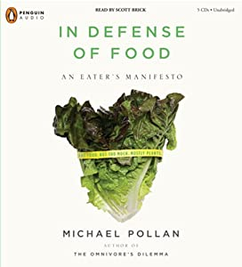 """Cover of """"In Defense of Food: An Eater's ..."""