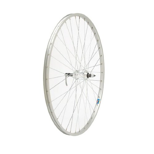 "Bicycle Rear Wheel 26x1.5/"" 5//6//7-Speed Freewheel 36H Quick Release Alloy Silver"