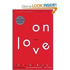 On Love, A Novel del autor Alain de Botton