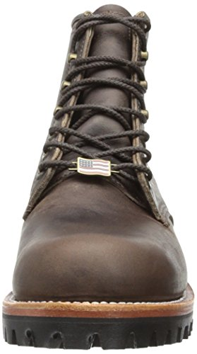 Chippewa Men S 6 Inch Sorrel Crazy Horse Rugged Boot Brown 11 5 D Us Authenticboots Com Men S Chelsea Chukka Riding Western Boots And Many More
