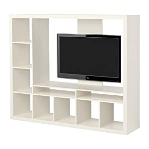 Amazon Com Ikea Expedit Entertainment Center Tv Stand Up