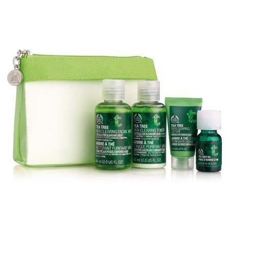 The Body Shop Tea Tree Skin Care 4 Piece Kit