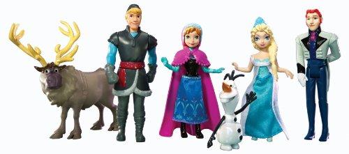 Disney Frozen Dolls Elsa Anna Kristoff and Olaf