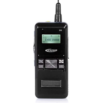 Kirisun E66 UHF 400-470MHz dPMR Digital Portable Two-way Radio Walkie Talkie