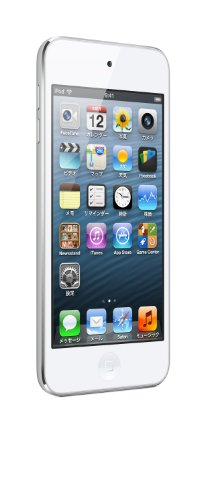 Apple iPod touch 32GB ホワイト&シルバー MD720J/A  <第5世代 data-recalc-dims=