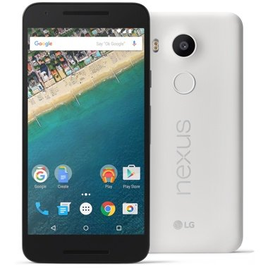 Google Nexus 5X SIMフリー 16GB Quartz White並行輸入