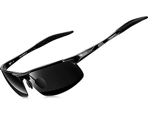 58e26572d0 ATTCL® 2015 New Fashion Driving Polarized Sunglasses for Men Unbreakable-metal  Frame 18177black