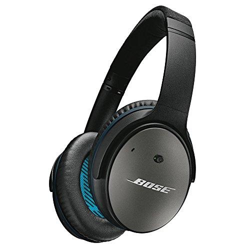 Bose QuietComfort 25 アラウンドイヤーノイズキャンセリングヘッドホン iPhone・iPod・iPad対応リモコン・マイク付き ブラック QuietComfort25 BK 国内正規品