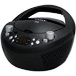 Coby CXCD251BLK Portable CD Player with AM/FM Radio, Black for $24.78 + Shipping