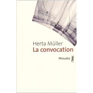 """Résultat de recherche d'images pour """"herta muller la convocation"""""""