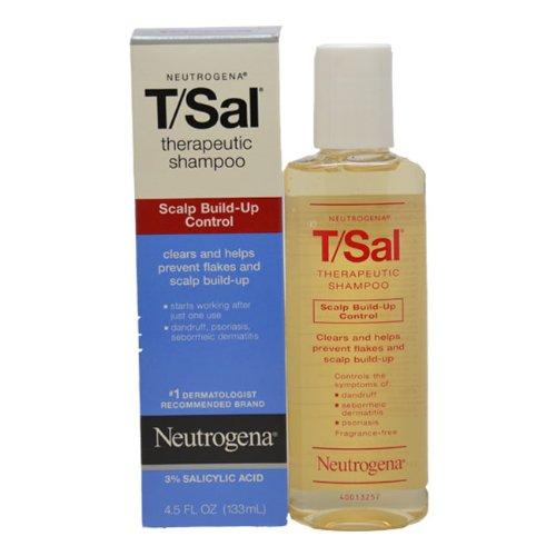 Neutrogena T/Sal Shampoo, Scalp Build-up Control, 4.5 fl ...