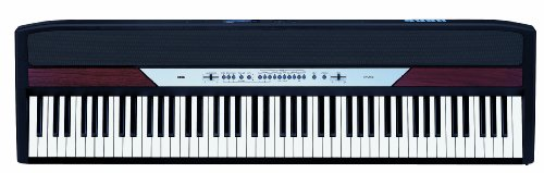 Korg SP250 88 Key Digital Piano with Stand (Jet Black)