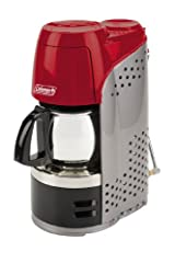 Coleman Portable Propane Coffeemaker with Stainless Steel Carafe