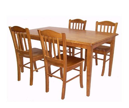 Buy Low Price Boraam 5pc Casual Dining Table And Chairs