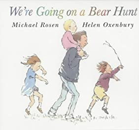 """Cover of """"We're Going on a Bear Hunt"""""""