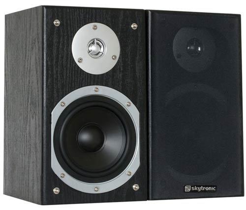 Skytronic Stereo Regal Lautsprecher Satz 140w Shfb55b Mp3 Player