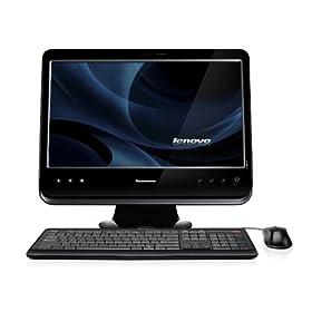 Lenovo C205 77291KU All-In-One 18.5-Inch Desktop (Black)