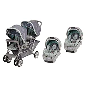 Graco DuoGlider LX Stroller & SnugRide Travel System