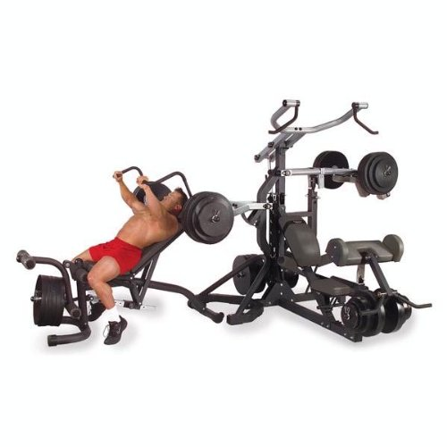 Body Solid SBL460P4 Freeweight Leverage Gym Package